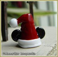 Santa Claus Mouse Ears Hat