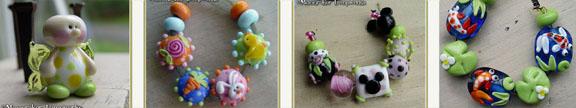 bead sample row