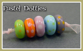 Pastel Spotted Spacer Set