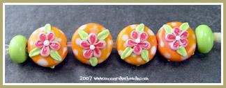 Mangolicious Blossom Buttons