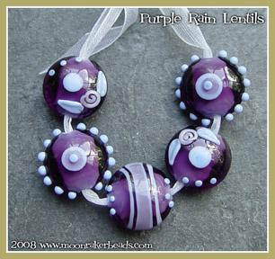 Purple Rain Lentils