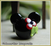 Red Flower Mouse Ears