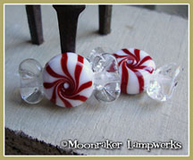 Peppermint Starlight Wrapped Candy